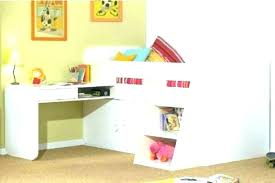 Bunk Bed Desk Underneath Loft Bed With Desk Underneath Desk And Bed Loft Bed Desk Loft Beds