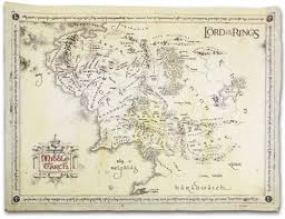 map from lord of the rings lord of the rings map 67x46 nt karte mittelerde co