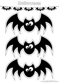 Halloween Bat Stencils by Plantilla Murcielagos Recortar Guirnalda De Papel Halloween