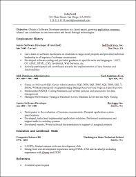 Developer Resume Sample by Developer Resume Developer Resume Sample