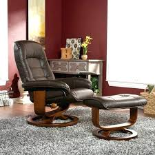 Glider Recliner With Ottoman Microfiber Brown Glider Recliner Ottoman By Coaster Furniture