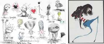 the of tim burton the artist before the filmmaker the artifice