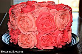 Rose Cake U2013 Blondie And Brownies