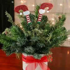 christmas picks glittered legs christmas floral picks and stems