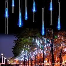 christmas lights that look like snow falling 2018 super christmas light snowfall tube 50cm 30cm tube power
