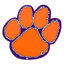 paw clipart clemson pencil and in color paw clipart clemson