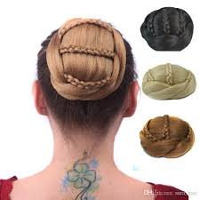 bun accessories hair chignon bun hair accessories updo synthetic