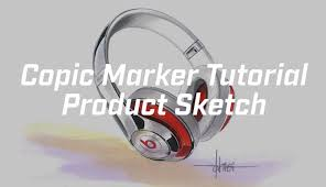 product sketch copic marker tutorial youtube