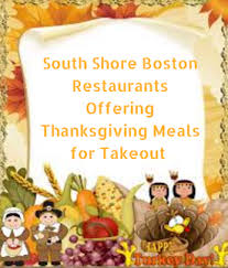 south shore boston restaurants offering thanksgiving meals for