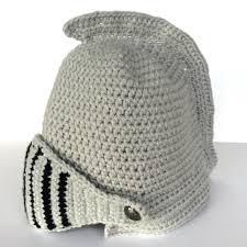 crochet pattern knight helmet free show and tell meg 2018 01 14