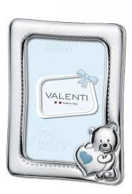 cornice battesimo bimbo cornice portafoto baby argento valenti 73108 regalo battesimo celeste
