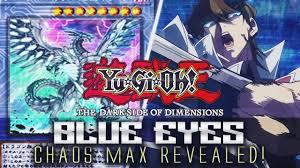 blue eyes chaos max dragon revealed yu gi oh the dark side of