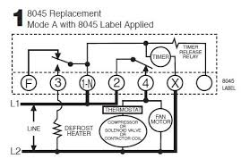 defrost timer wiring diagram wiring diagrams