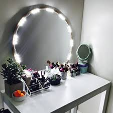 Lamp For Makeup Vanity Amazon Com Penson Lighted Mirror Led Light For Cosmetic Makeup