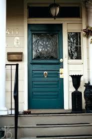 choosing colors for front door lock paint color cool blue doors