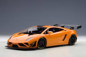 Lamborghini Gallardo Orange - autoart 2013 lamborghini gallardo gt3 fl2 metallic orange