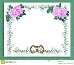 wedding invitation background free download wedding invitation pink roses stock photo image 4820890