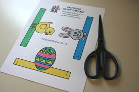 easter egg stands printable easter egg holders chica and jo