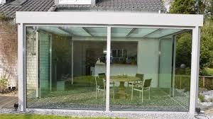 veranda vetro veranda autoportante in alluminio in vetro puro sunroom