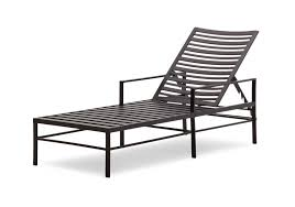 Black Metal Patio Chairs Belcourt Outdoor Chaise Lounges Patio Chairs The Home Depot Within