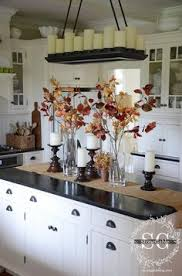 decorate kitchen island fall home tour part 2 kitchens autumn and holidays