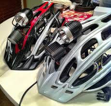 best helmet mounted light best low profile helmet light mtbr com