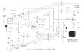 6a 12v relay solar charge control