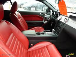2005 ford mustang gt interior leather interior 2005 ford mustang gt premium convertible