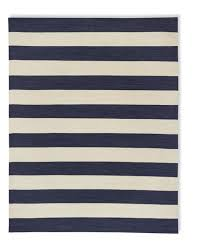 William Sonoma Kitchen Rugs Patio Stripe Indoor Outdoor Rug Dress Blue Williams Sonoma