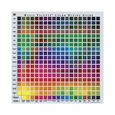 paint color chart amazon com