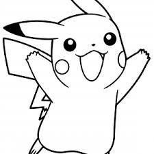 pikachu coloring pages pikachu pokemon ash colors