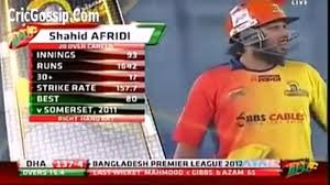 world biggest six of shahid afridi of 230 metre 2013 in cricket