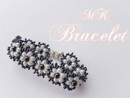 easy pearl bracelet images How to make a beautiful and easy pearl bracelet flat spiral jpg