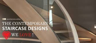Contemporary Staircase Design The Contemporary Staircase Designs We Love Space Harmony
