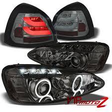 Ebay Led Lights 2004 2008 Pontiac Grand Prix Gt Gt1 Gxp Smoke Led Halo Headlight