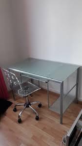 bureau verre trempé achetez bureau verre trempé quasi neuf annonce vente à lagny sur