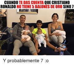 Memes De Cristiano Ronaldo - cuando te das cuenta que cristiano ronaldo no tiene 5 balones de oro