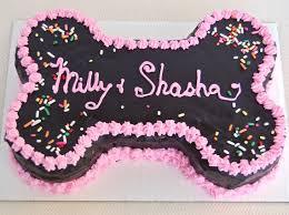 birthday cake for dogs large bone shaped dog birthday cake pered paw gifts