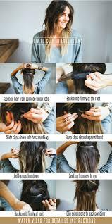 Boheme Hair Extensions by Hair Tutorial How To Clip In Extensions U2014 Treasures U0026 Travels