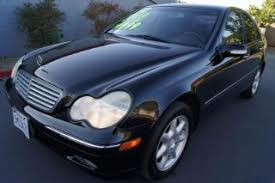 mercedes 2002 c class used 2002 mercedes c class for sale pricing features