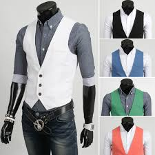 classy or douchy wearing fitted vests over long sleeve collar
