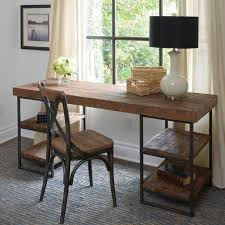 Grey L Shaped Desk by Solid Wood L Shaped Desk Wooden Desks Writing With Two Shelves