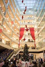 christmas tree lighting ceremony holiday inn dubai u2013 al barsha