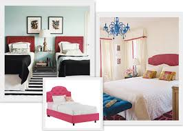 sanity fair decorating with headboards ballard designs black bed stead is a dead ringer for this beauty image also from decorpad throw in a thomas paul pillow and you re set