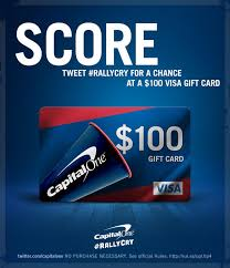 capital one on follow capitalone rt rallycry now for