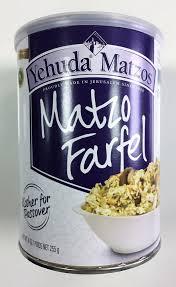 matzah farfel yehuda matzo farfel 9 ounce cannister