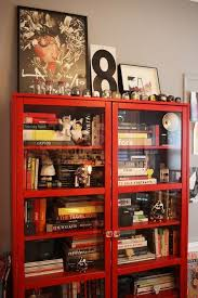 Glass Door Bookshelves by Best 25 Glass Bookcase Ideas On Pinterest Dining Room Storage