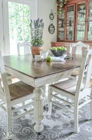 Painting Dining Room Table Painted Dining Room Set Dining Table And Chairs Makeover With