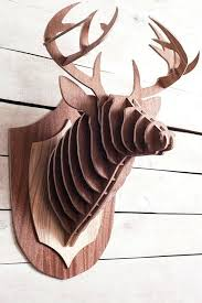 wooden stag wall animal wall decorations danielederossi info