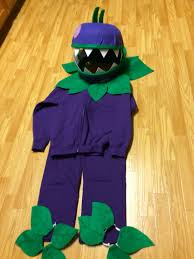 chomper plants zombies halloween costumes